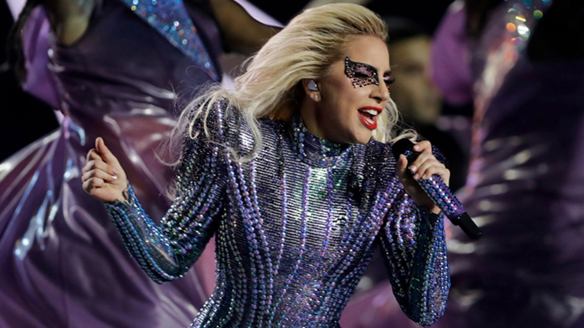 Lady Gaga says pride weekend is a time to shine a light on equality.