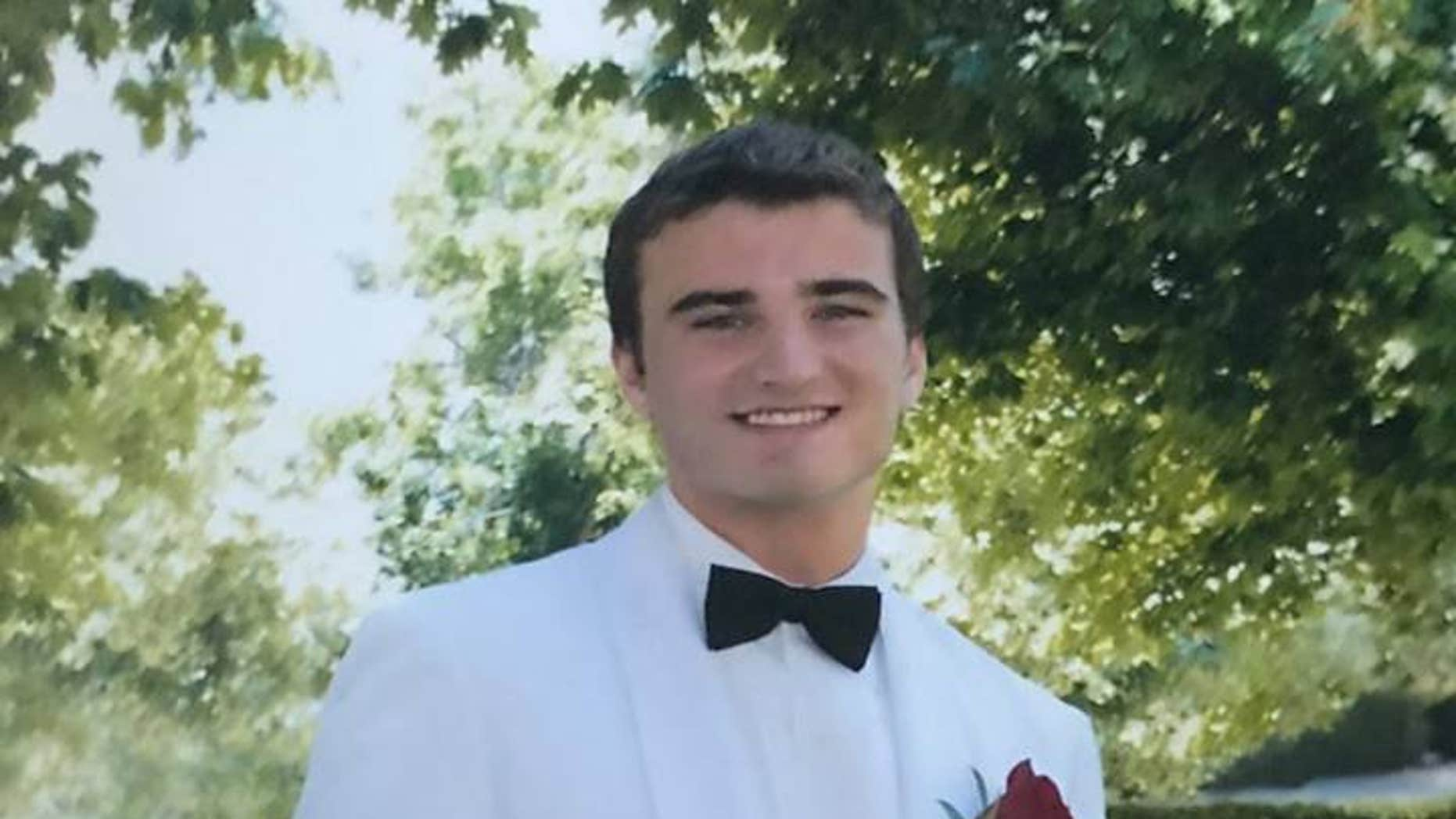 Gage Bellitto, who would have turned 20 on Dec. 25, was a Columbia University transfer looking to study economics. He died alone of a suspected opioid overdose on Dec. 22. (Facebook)