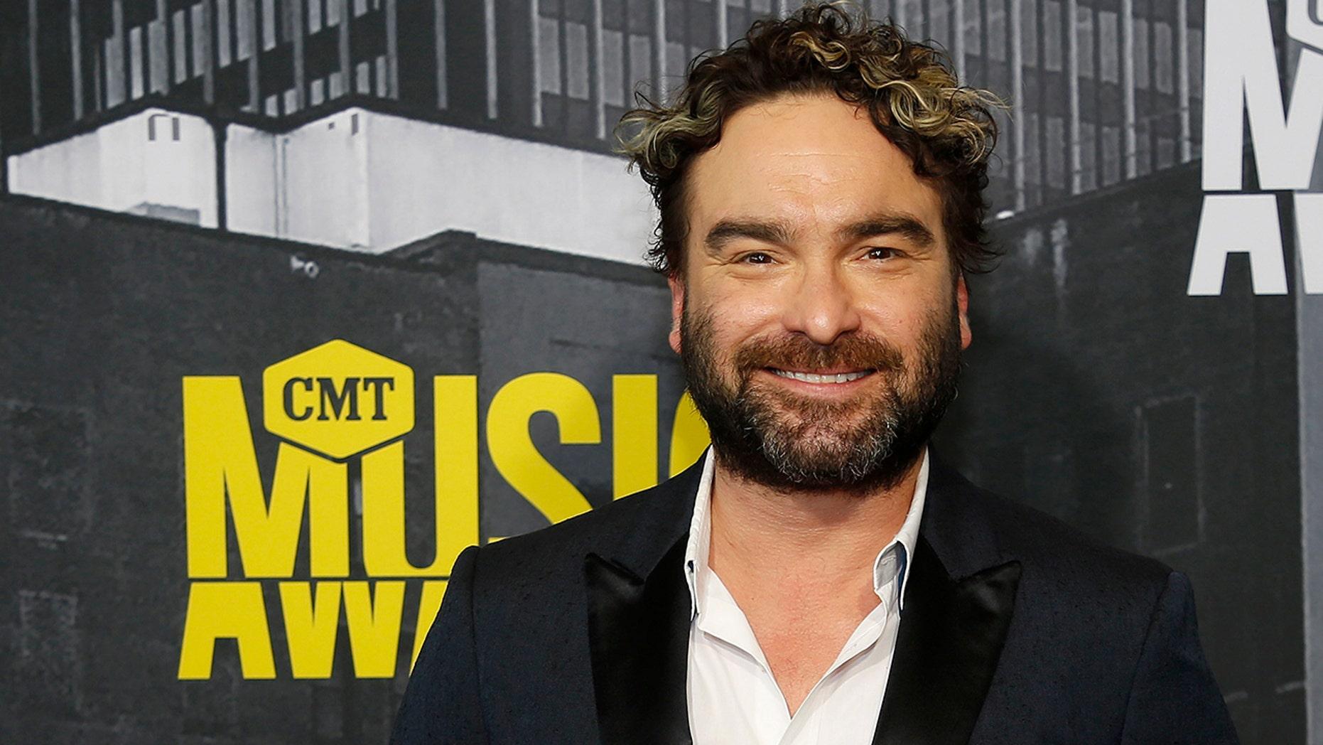 2017 CMT Music Awards  – Arrivals - Nashville, Tennessee, U.S., 07/06/2017 - Johnny Galecki. REUTERS/Jamie Gilliam - RTX39JK0