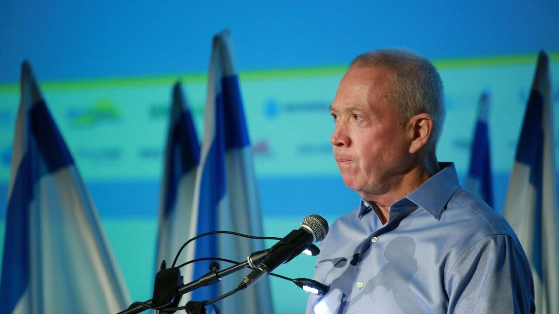Yoav Gallant stood by his comments after his speech outside Jerusalem.
