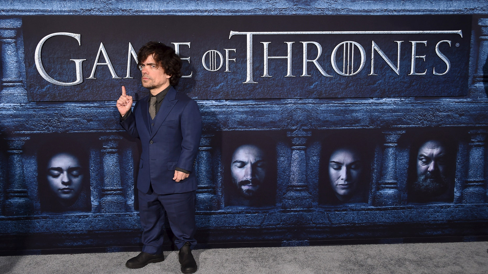 """File photo: Cast member Peter Dinklage attends the premiere for the sixth season of HBO's """"Game of Thrones"""" in Los Angeles, California, U.S. April 10, 2016. (REUTERS/Phil McCarten/File Photo)"""