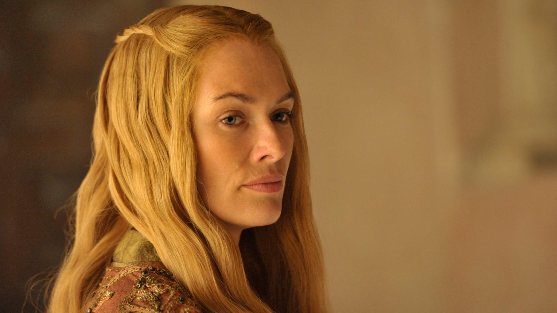"Lena Headey plays Cersei  in ""Game of Thrones."""