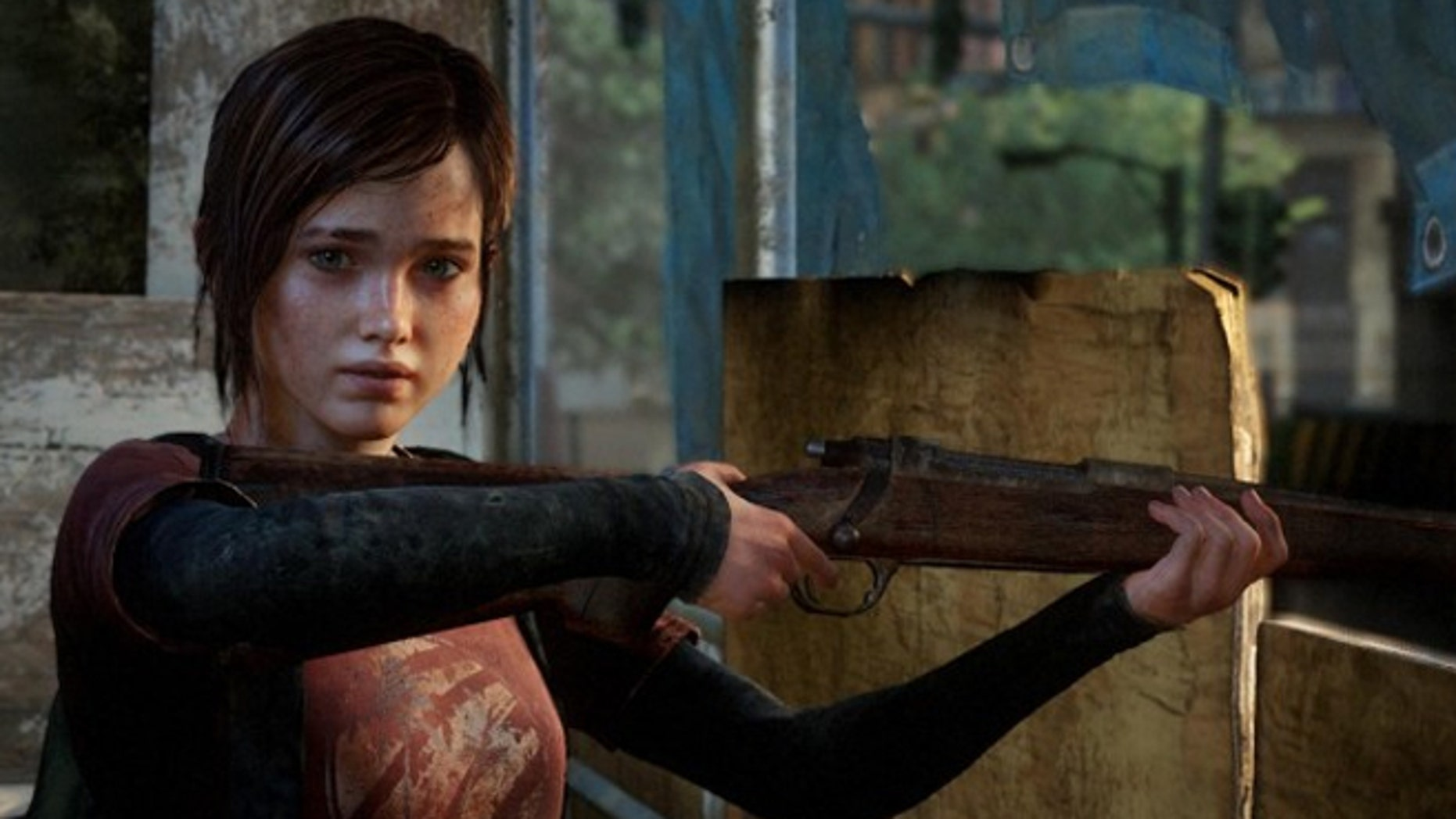 """Screenshot from """"The Last of Us."""""""
