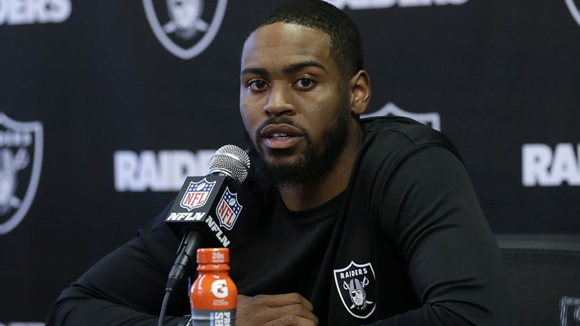 Gareon Conley, 23, of the Oakland Raiders is suing a woman who accused him of sexual assault two days before the 2017 NFL Draft, reports said.