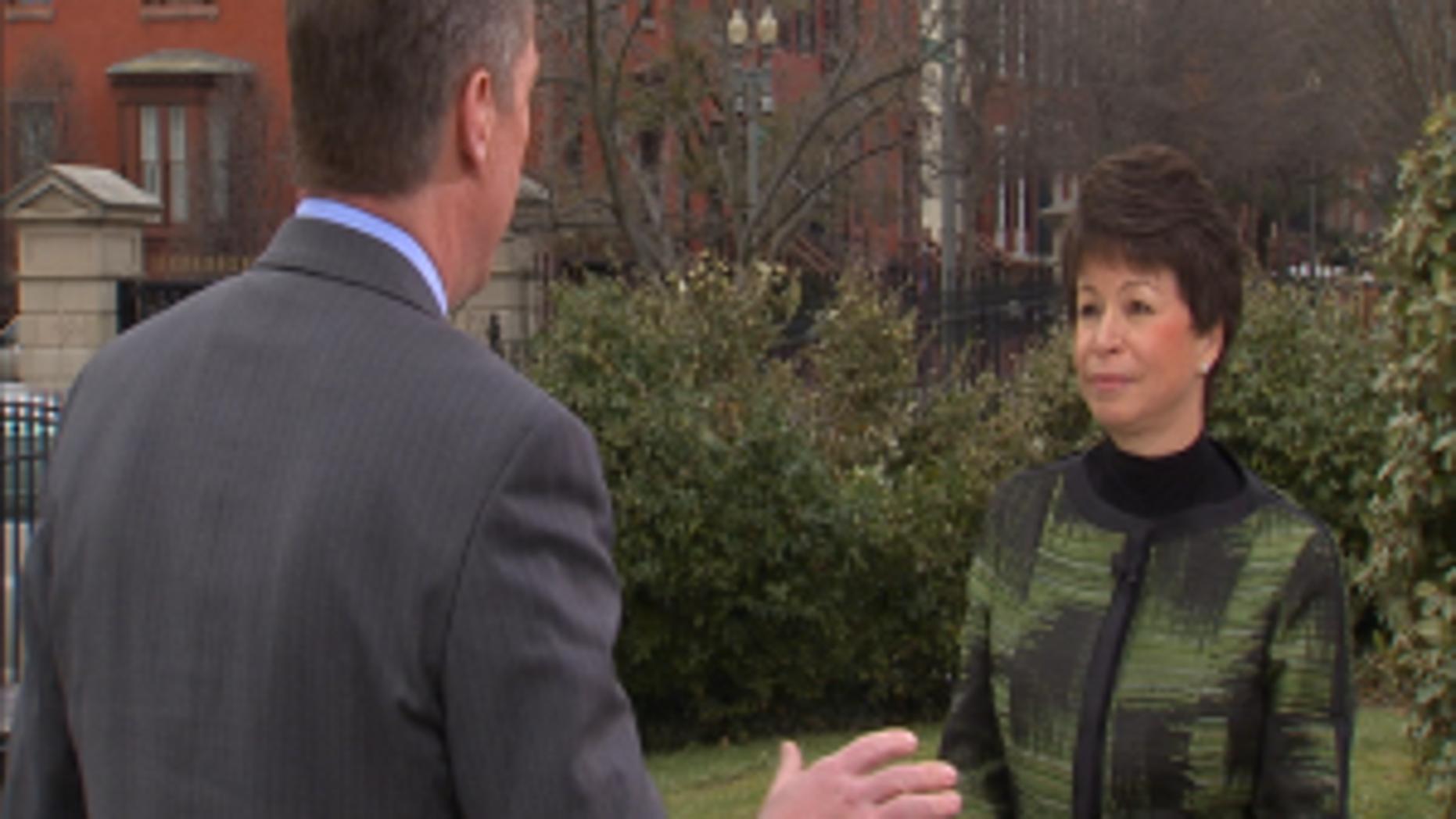 Major Garrett interviews Valerie Jarrett