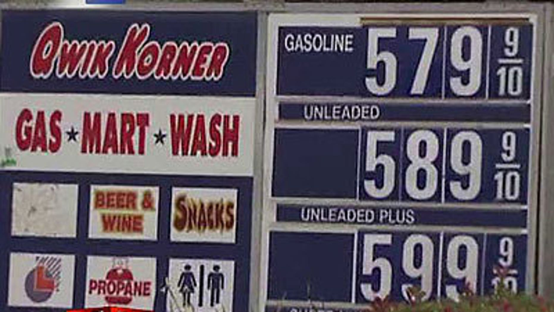 Gas Prices San Diego >> Gas Hits 6 Per Gallon In San Diego Fox News