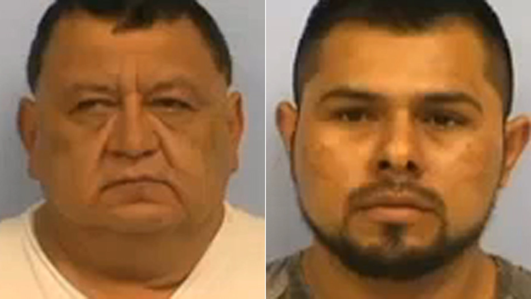 Guilibaldo Gonzalez Puente, left, and Alejandro Centeno Alvarez allegedly manipulated gas pumps and sold gas at discount rate.