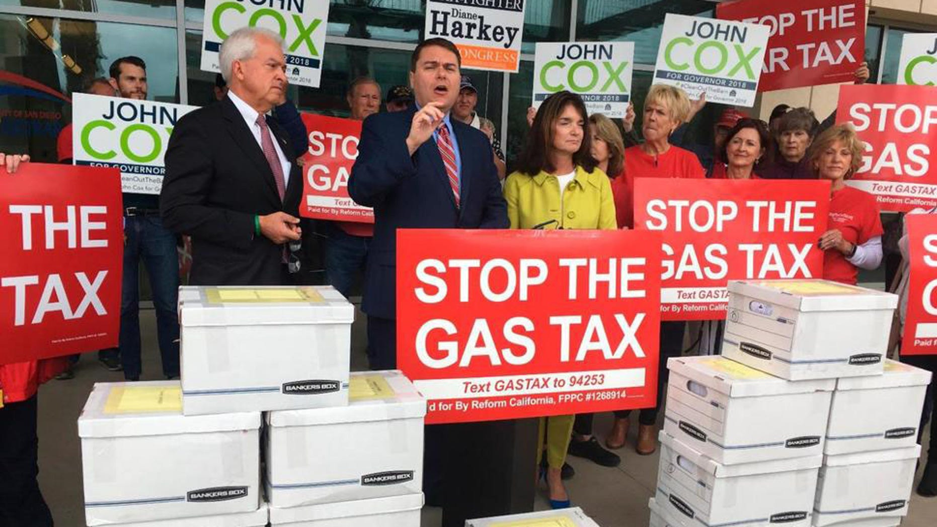 Opponents of the California gas tax hike could help Republicans save their House seats.