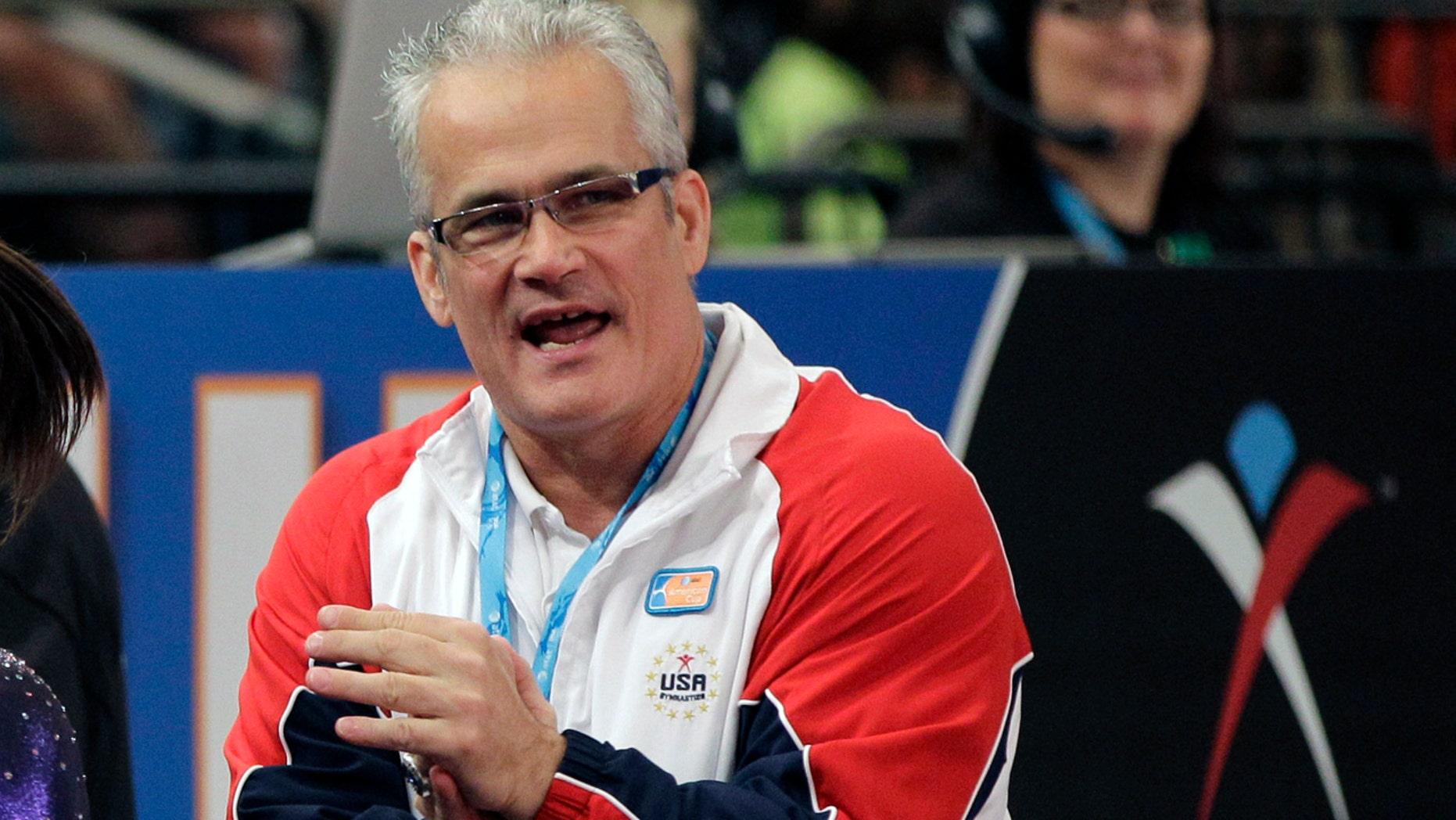 John Geddert was the head coach of the U.S. gymnastics team at the 2012 Summer Olympics in London.