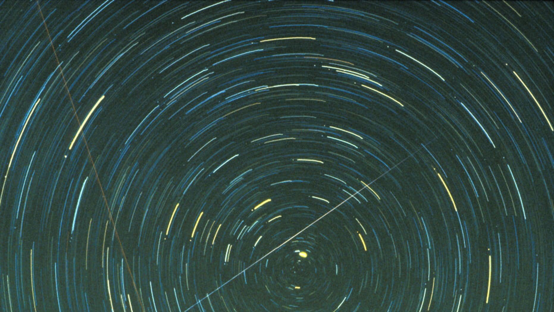 A Geminid meteor. Image credit: Jimmy Westlake