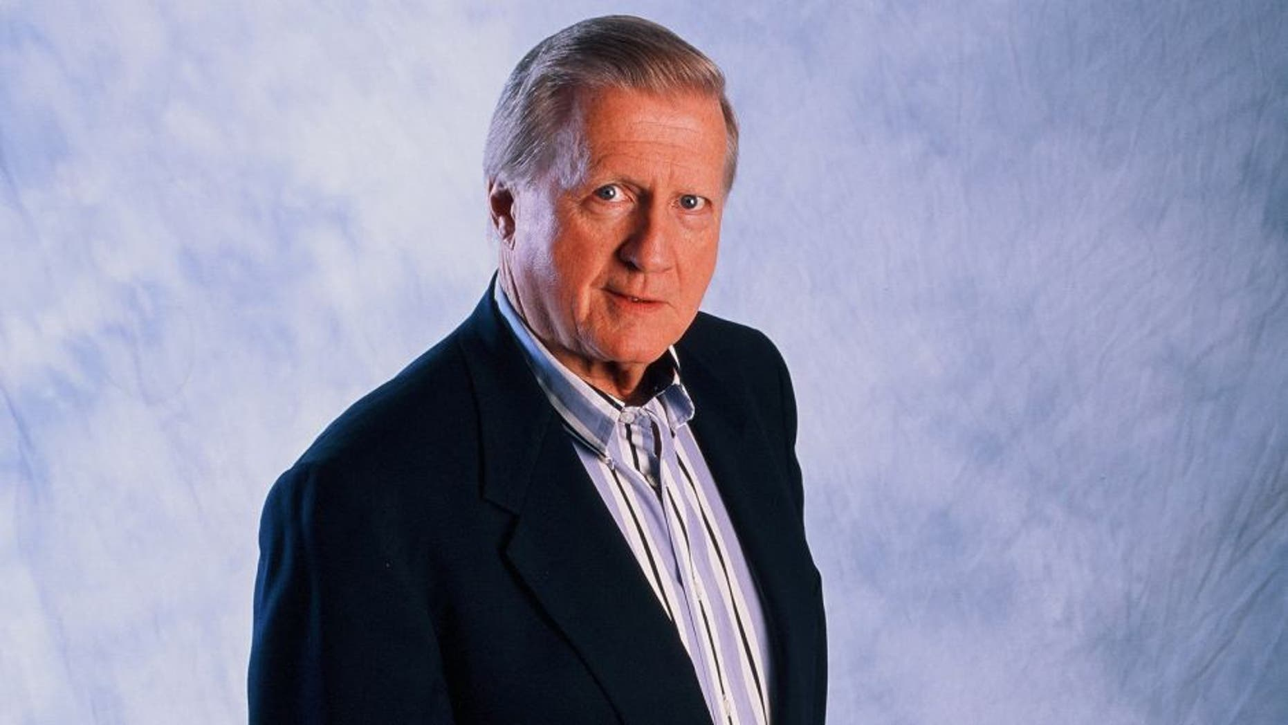 USA - JULY 26: George Steinbrenner of the New York Yankees poses for a photo on July 26, 1998. (Photo by Sporting News via Getty Images)
