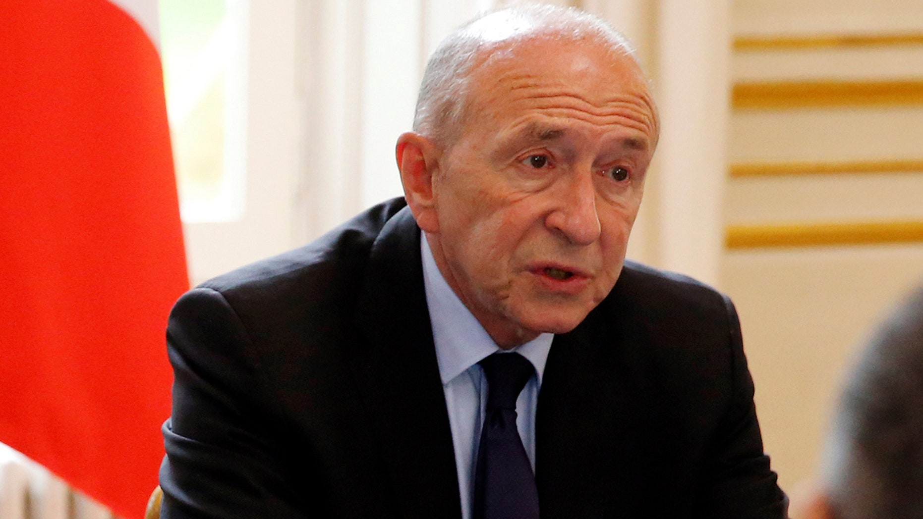 French Interior Minister Gerard Collomb announced Thursday that French authorities had thwarted a possible attack using ricin or explosives, arresting two brothers.
