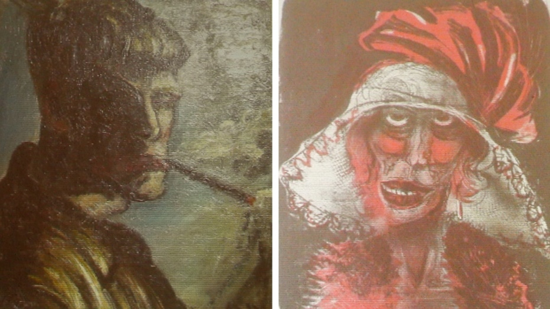Two formerly unknown paintings by German artist Otto Dix were among the artworks seized in a Munich flat owned by Cornelius Gurlitt, the reclusive elderly son of war-time art dealer Hildebrand Gurlitt, who was authorized by the Nazis to sell art the they stole. (Michael Dalder/Reuters)