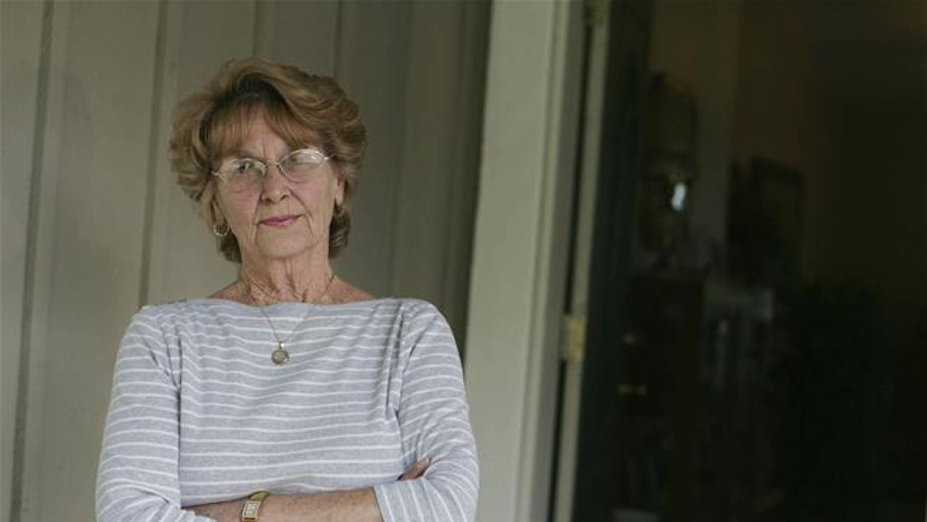 A 2011 photo of Joann Davis of Lake Elsinore, Calif.