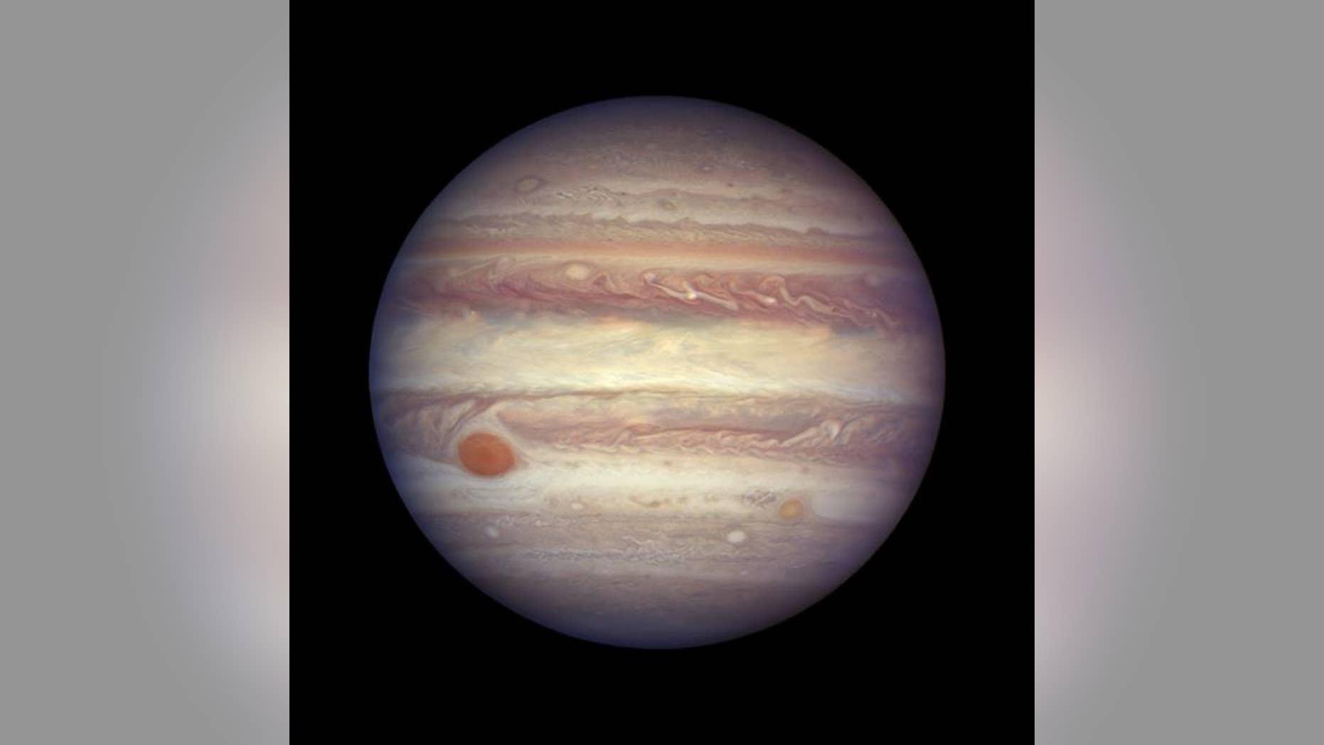 Byron's muse, Jupiter