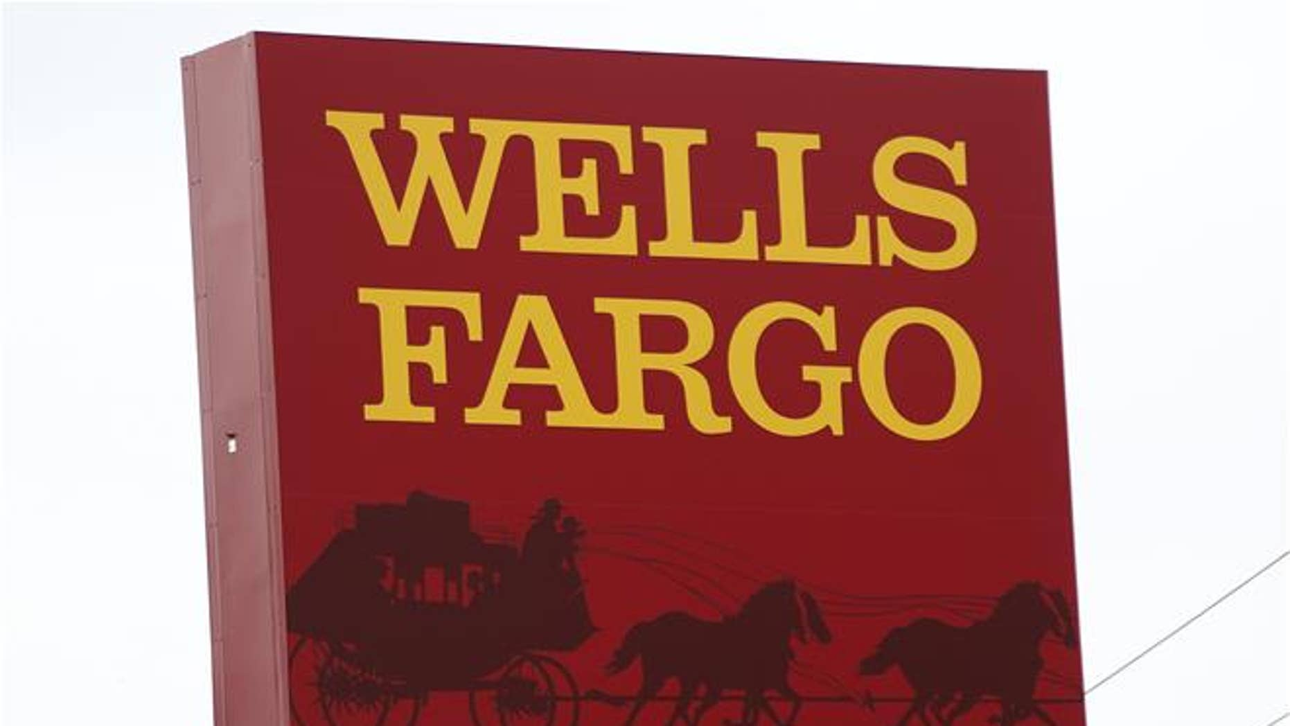 This April 11, 2017, photo shows a Wells Fargo bank in Jackson, Miss.