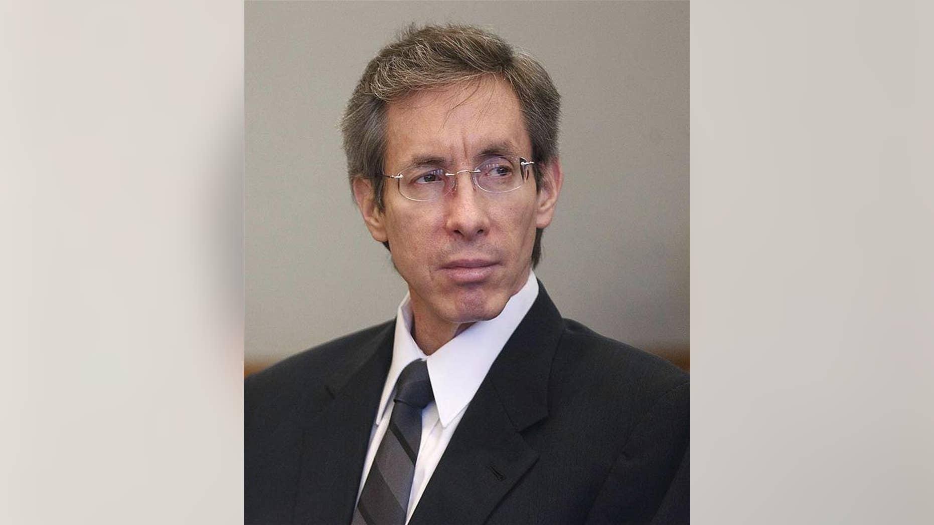 Warren Jeffs sits in the Third District Court in Salt Lake City on Nov. 15, 2010.