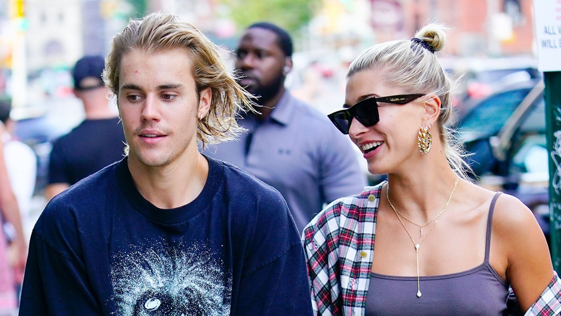 Justin Bieber and Hailey Baldwin uncover some PDA on Instagram in a new post on a singer's account.