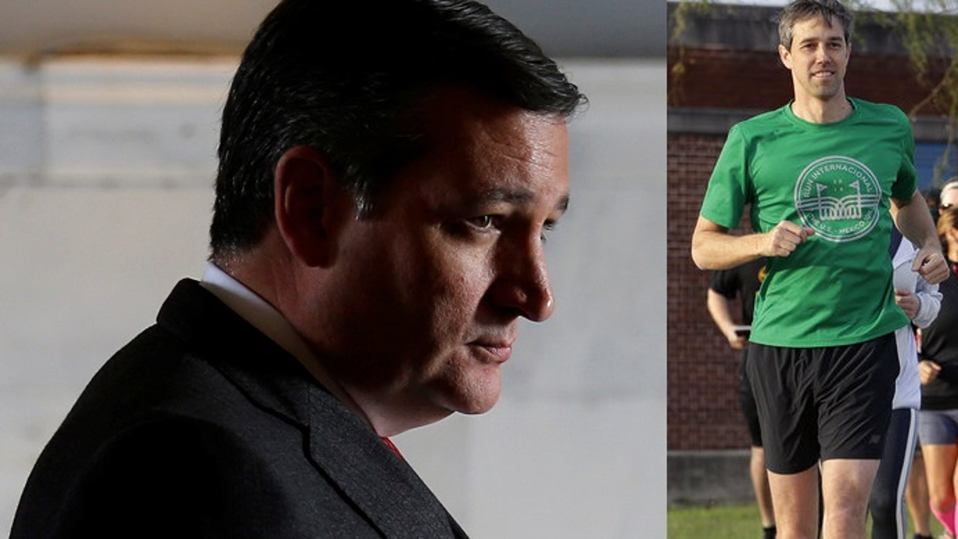 Ted Cruz has been out-fundraised so far in 2018 by his upstart Democratic challenger, federal filings show.