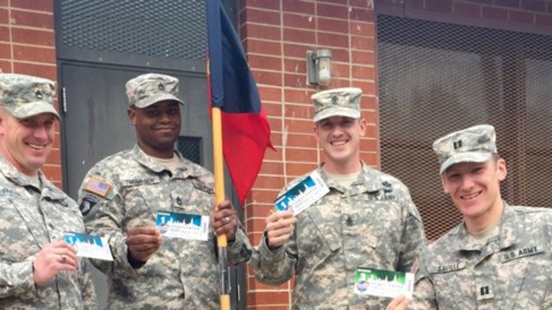 G.I. Tickets Foundation is sending troops to sporting events as a thank you for their service.