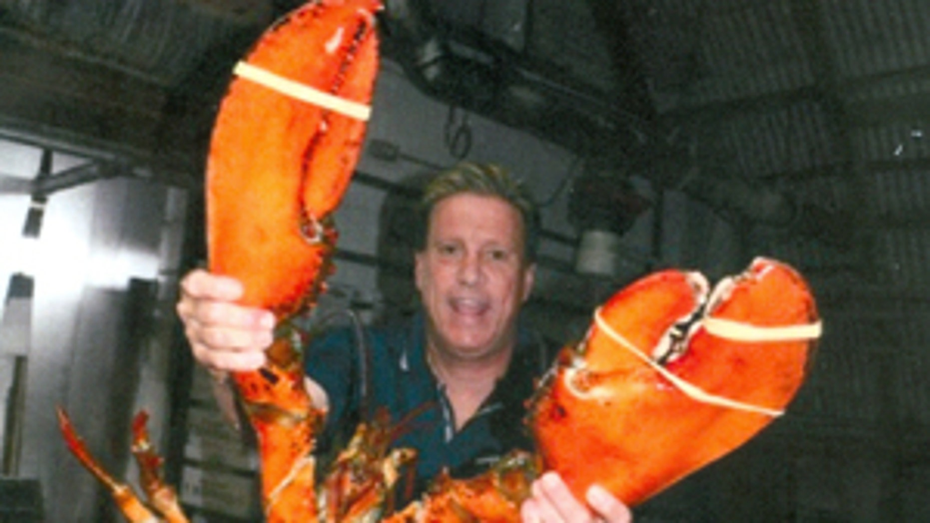 This giant lobster was weighs in at a whopping 23 lbs and is estimated to be 95 years old.
