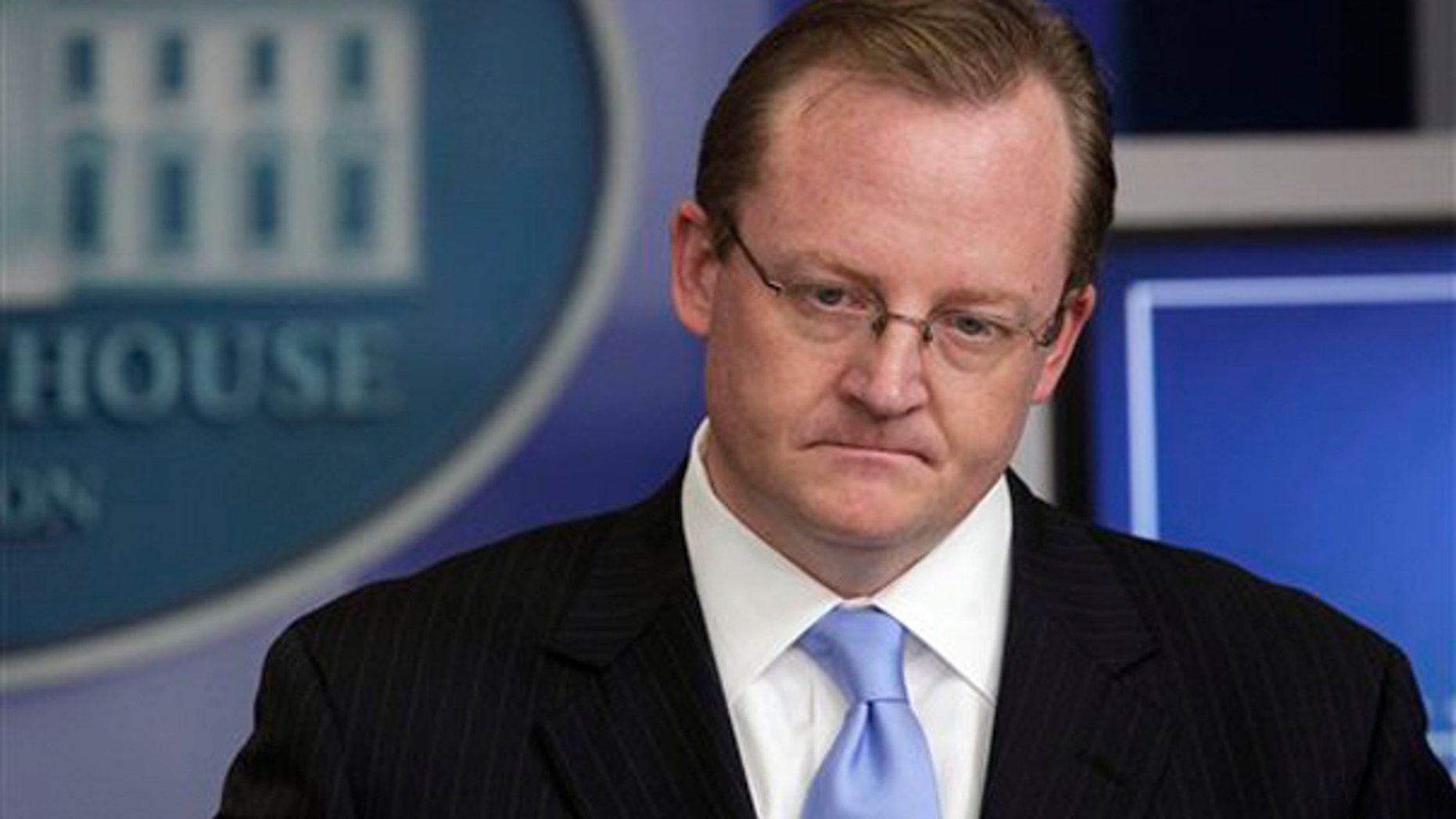 White House Press Secretary Robert Gibbs is shown here at the White House Nov. 2. (AP Photo)