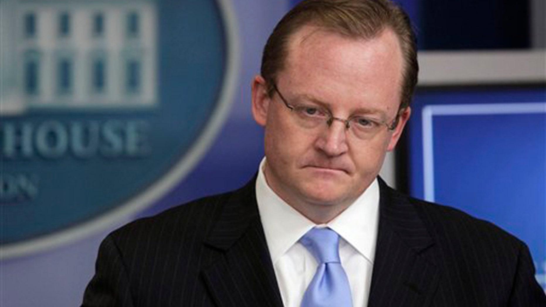 White House Press Secretary Robert Gibbs is shown here at the White House Nov. 2. (AP Photo)
