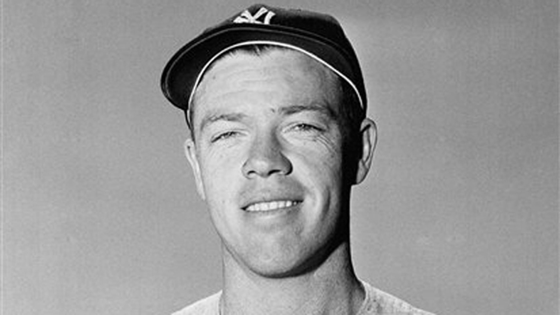 In this March 7, 1954, file photo, New York Yankees' Gil McDougald poses for a photo in St. Petersburg, Fla. McDougald, an All-Star infielder who helped the Yankees win five World Series championships during the 1950s, has died at 82.