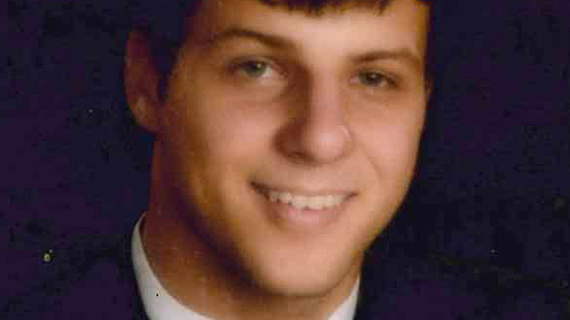 This undated Collar family photo shows University of South Alabama freshman Gil Collar, 18, who was shot to death by a campus police officer on Saturday, Oct. 6, 2012, in Mobile, Ala.