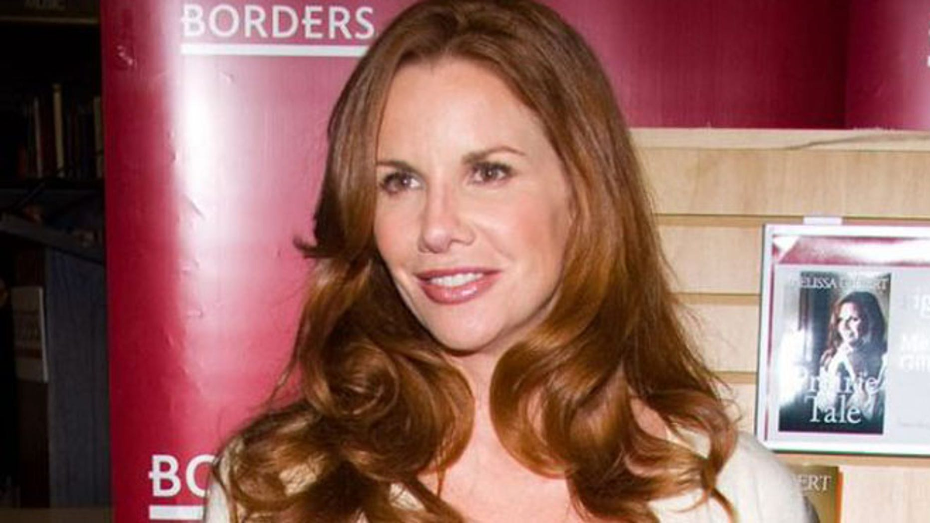 This file photo shows actress Melissa Gilbert. (AP)