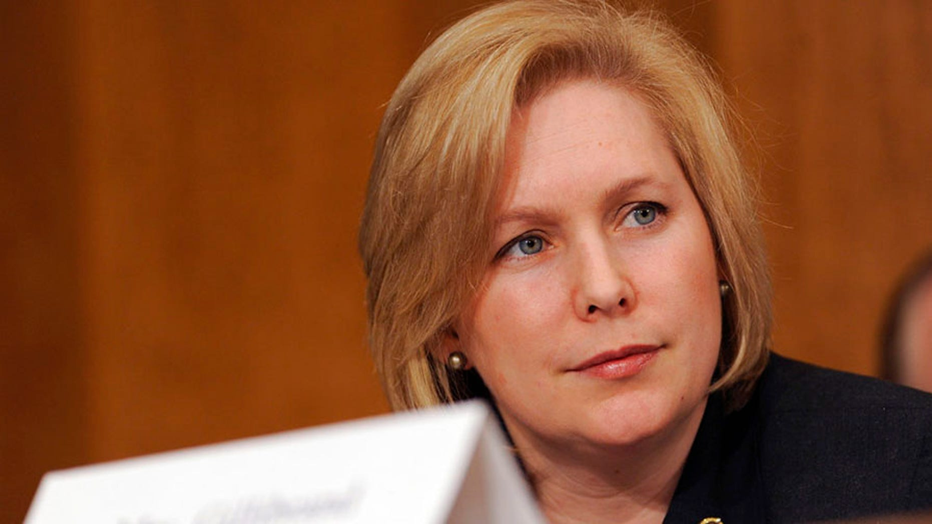 Sen. Kirsten Gillibrand, D-N.Y., has not mentioned the Iran protests.