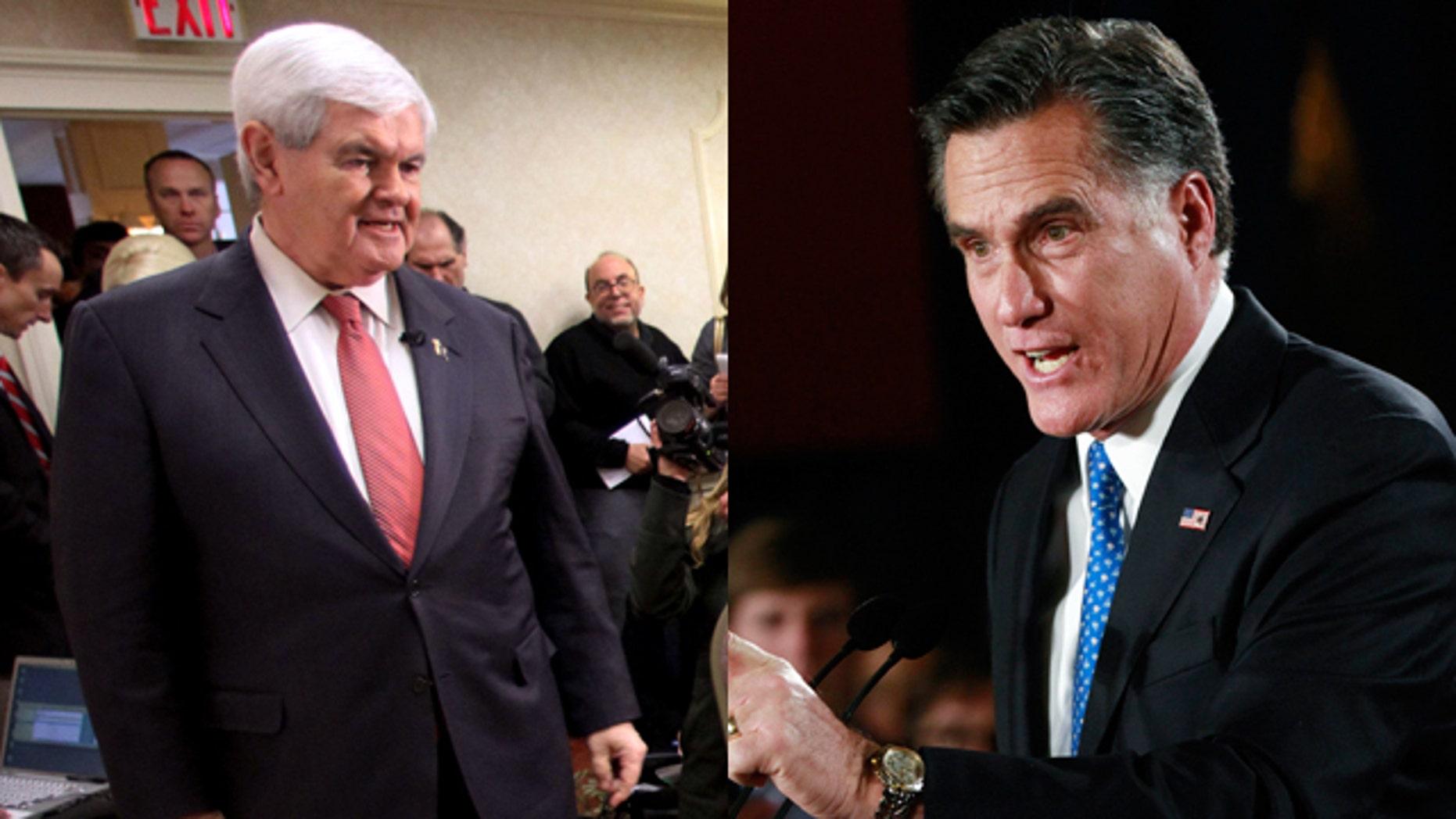 Newt Gingrich/Mitt Romney