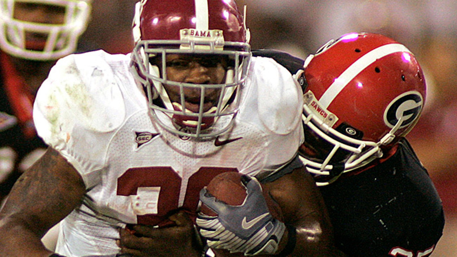 Running back Glen Coffee played for Alabama before his season in the NFL.