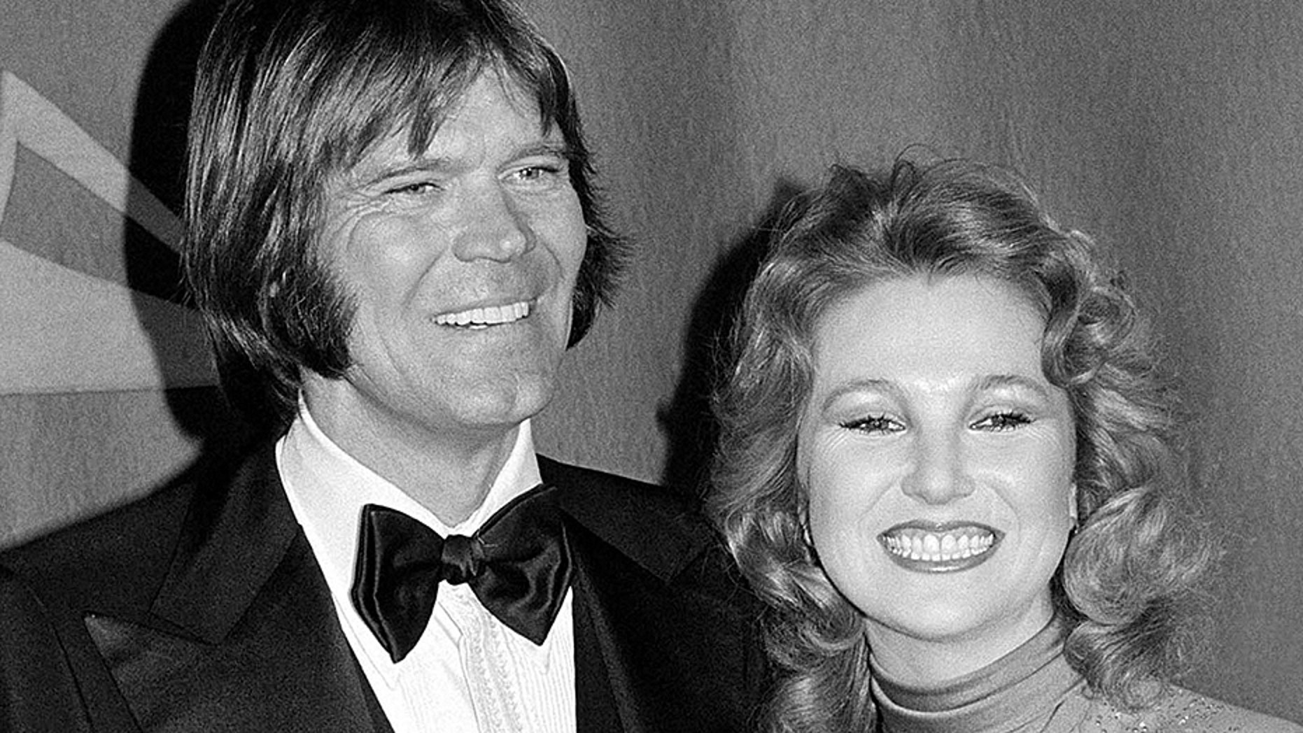 """Tanya Tucker recorded """"Forever Loving You"""" in honor of her former beau, fellow country music star Glen Campbell, who passed away in 2017."""