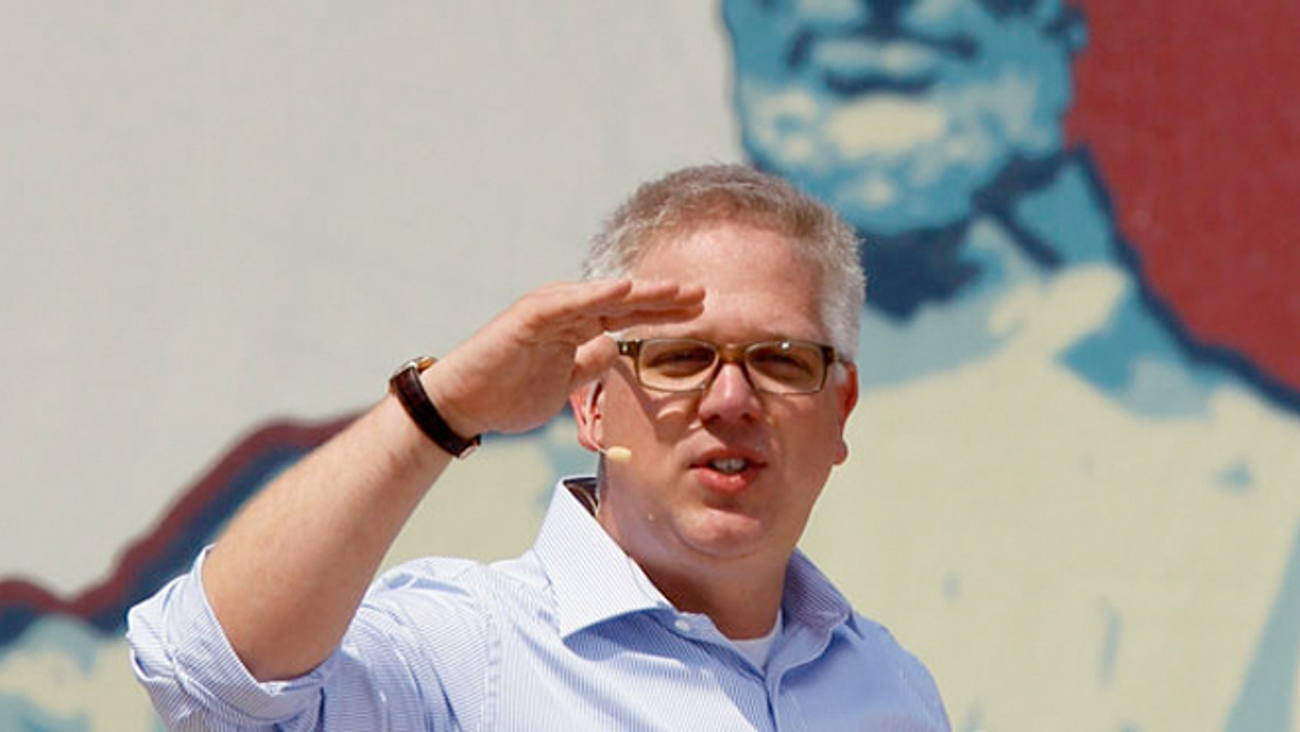 Glenn Beck says that American Airlines singled him out for mistreatment on a recent flight because of his political views.