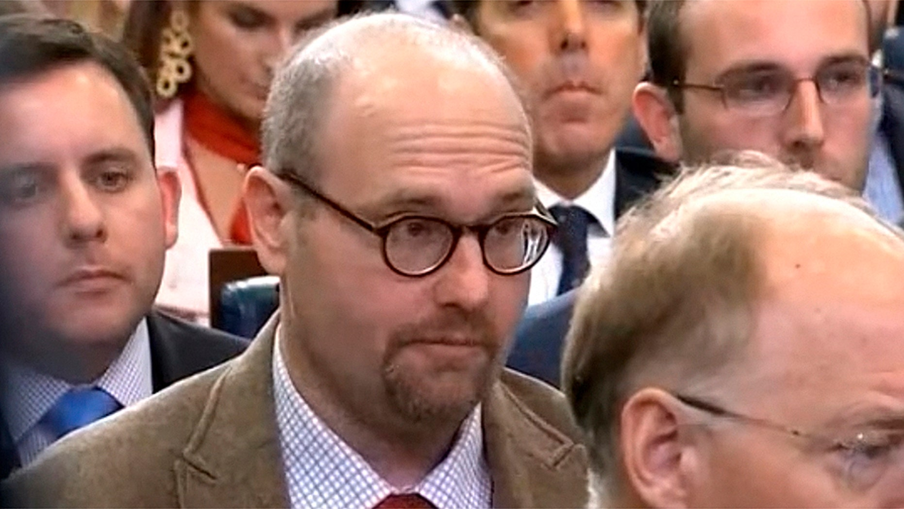 Glenn Thrush, seen here, will be moved off the White House beat, according to The New York Times.