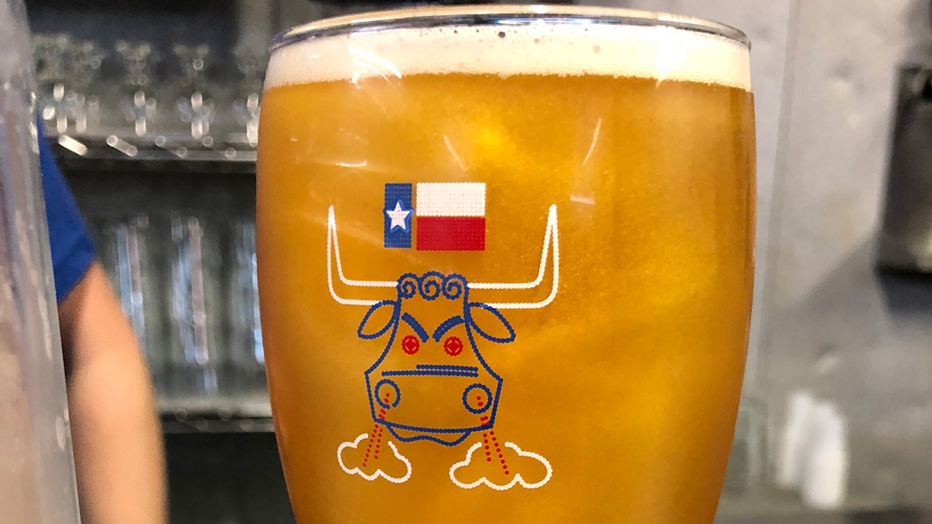 """The Eureka Heights Brewing Co. of Houston says its new beer """"dances in the sun like a majestic second baseman."""""""