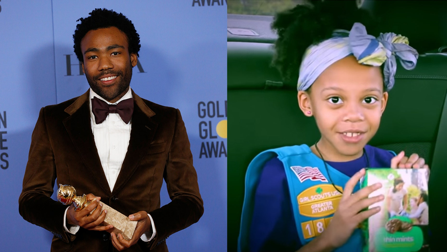 """The Atlanta first grader has gone viral for a """"Redbone"""" remix with her dad to sell Girl Scout cookies."""