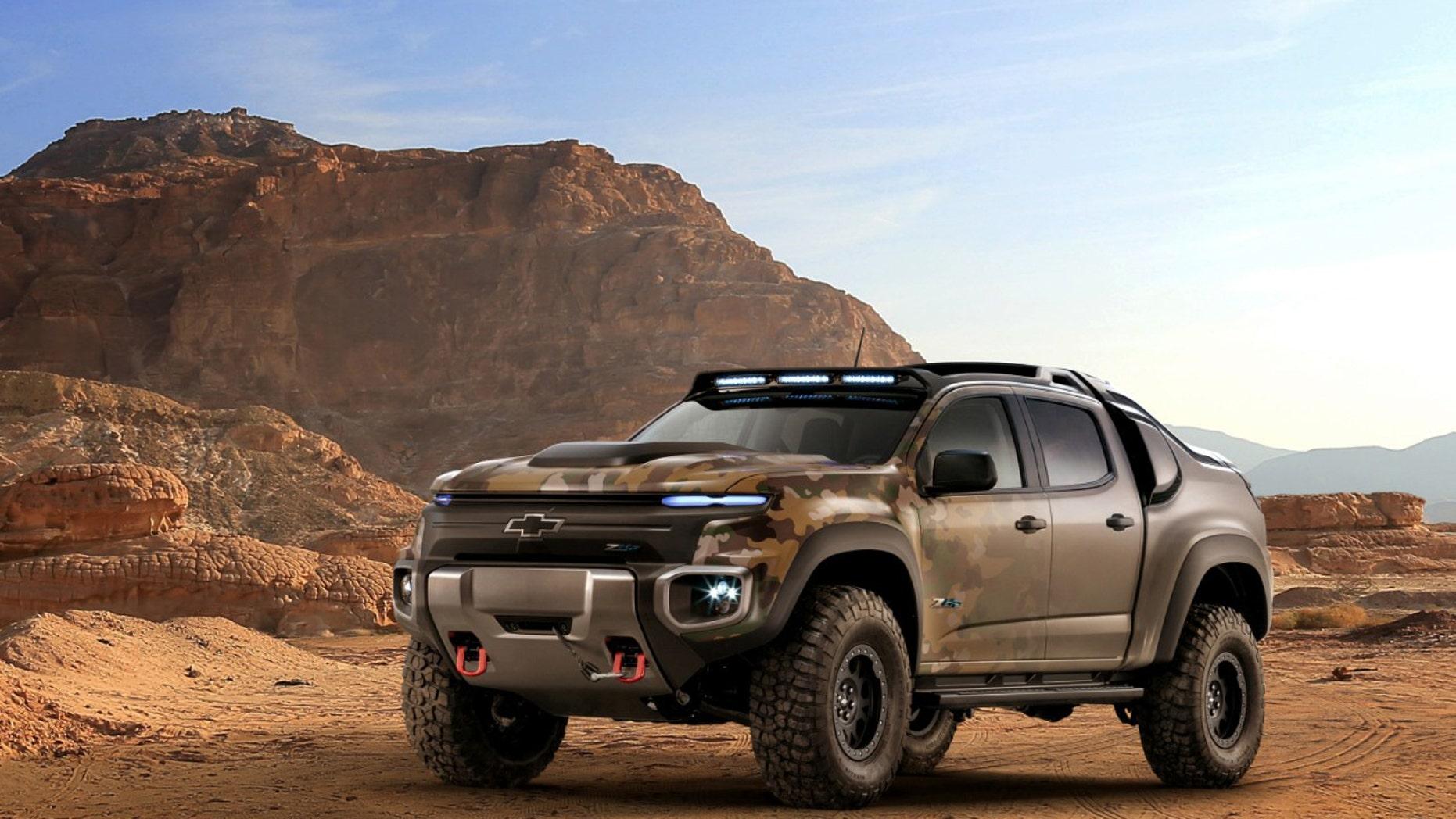 Chevrolet Colorado ZH2 (General Motors).