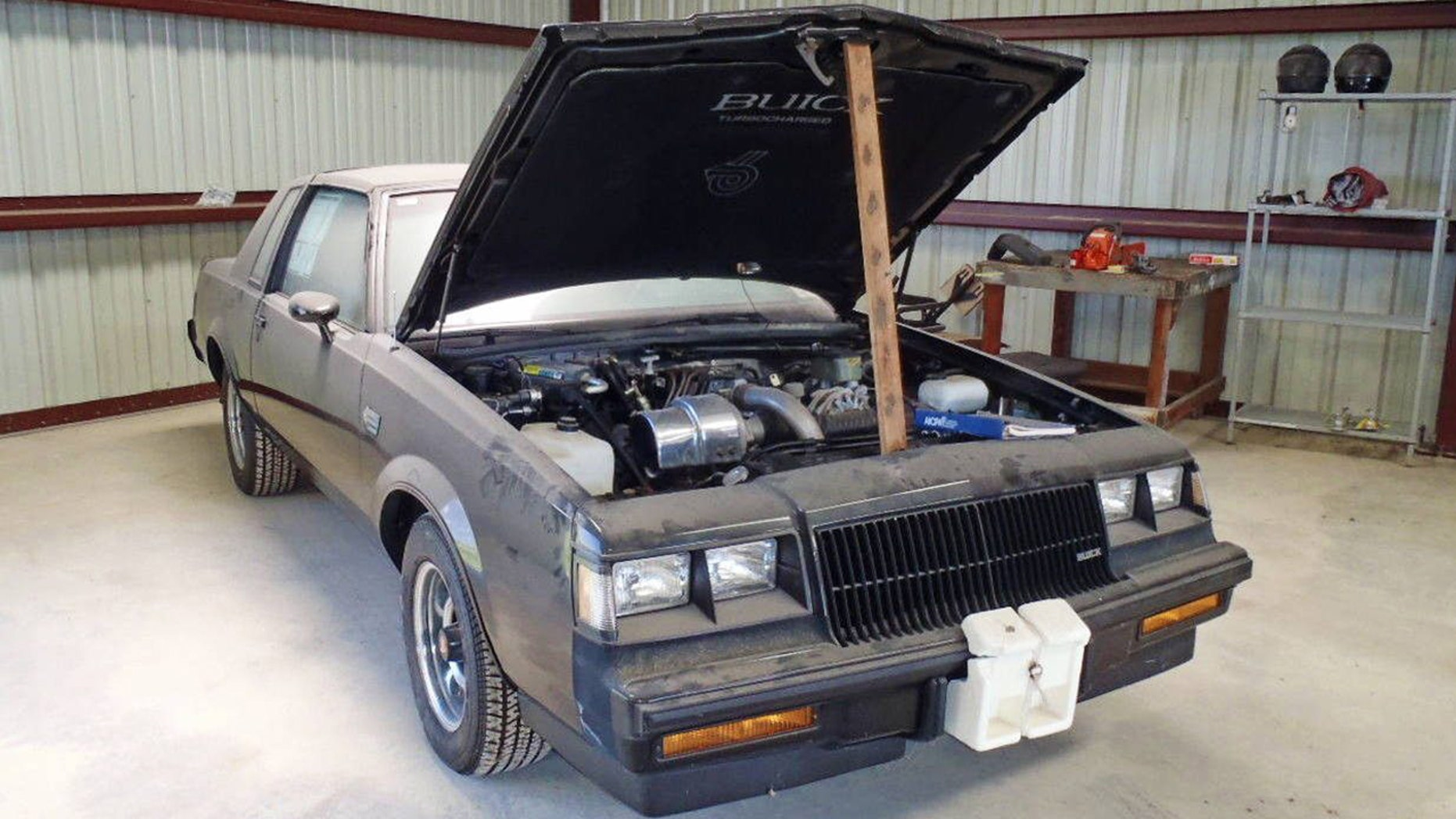 Time capsule 1987 Buick Grand National being auctioned on Ebay | Fox ...