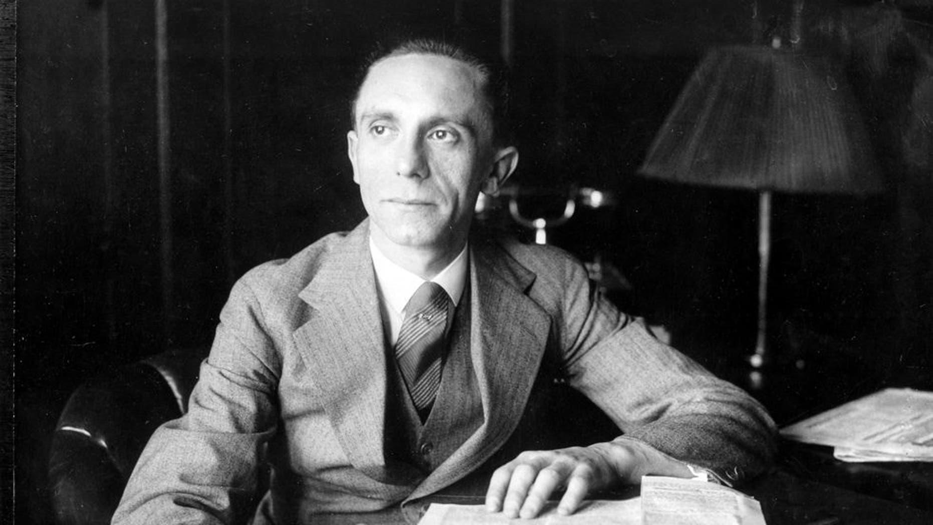 Joseph Goebbels in the 1930s.