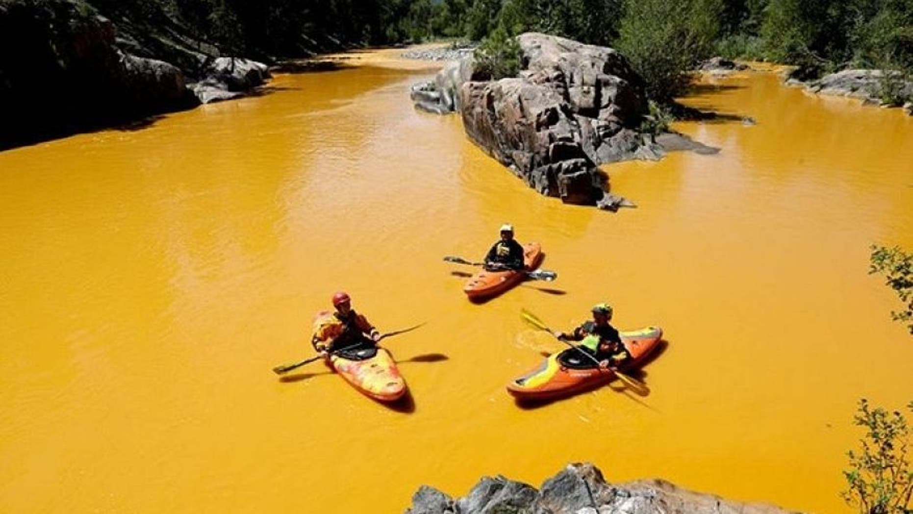 The House Committee on Natural Resources released a damning report on the EPA and how they handled the August 2015 Gold King Mine disaster in Colorado, and its aftermath. (AP)