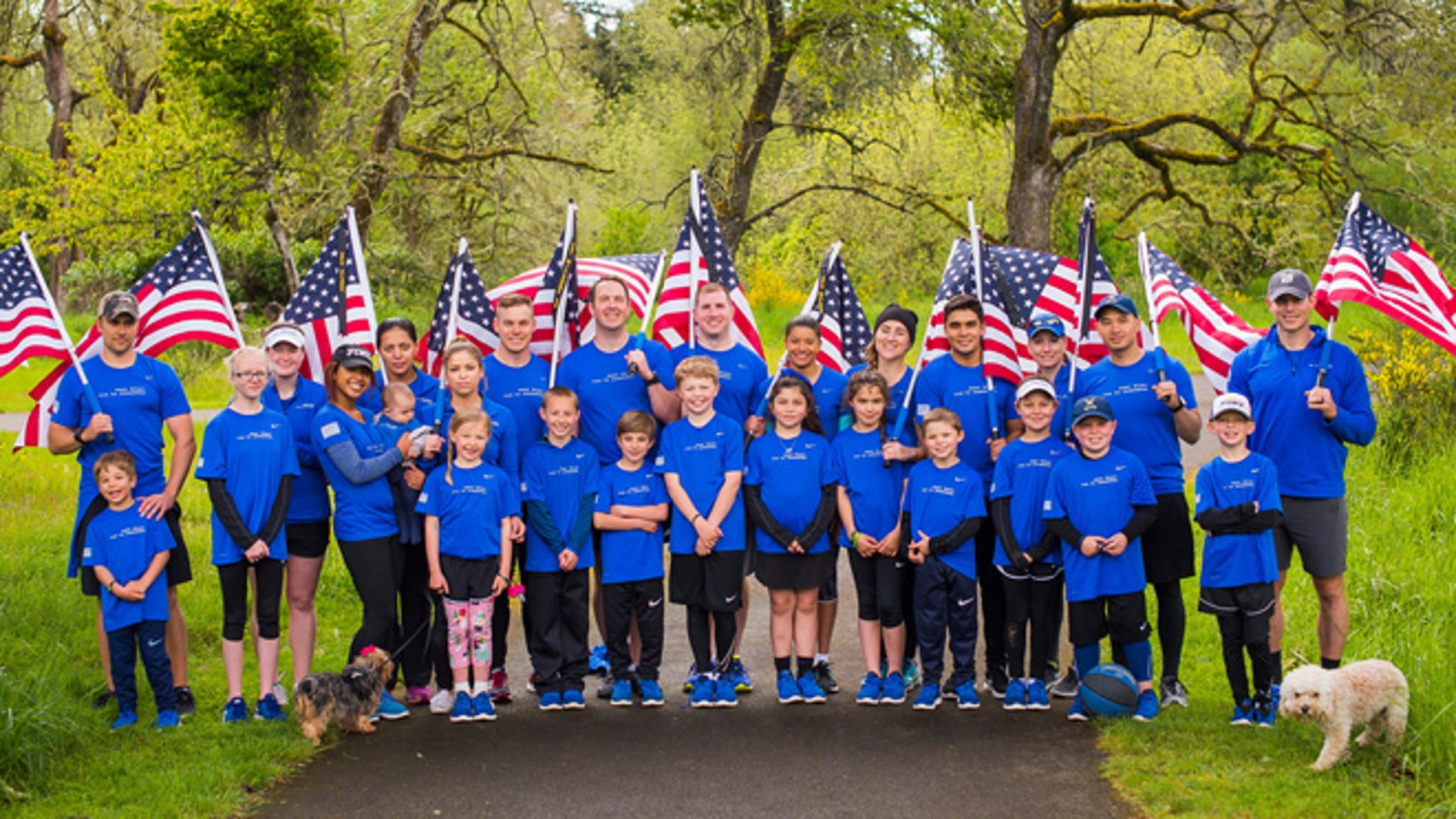"""Wear blue, run to remember,"" a national running community that honors the service and sacrifice of the American military, has launched a new program for Gold Star children."