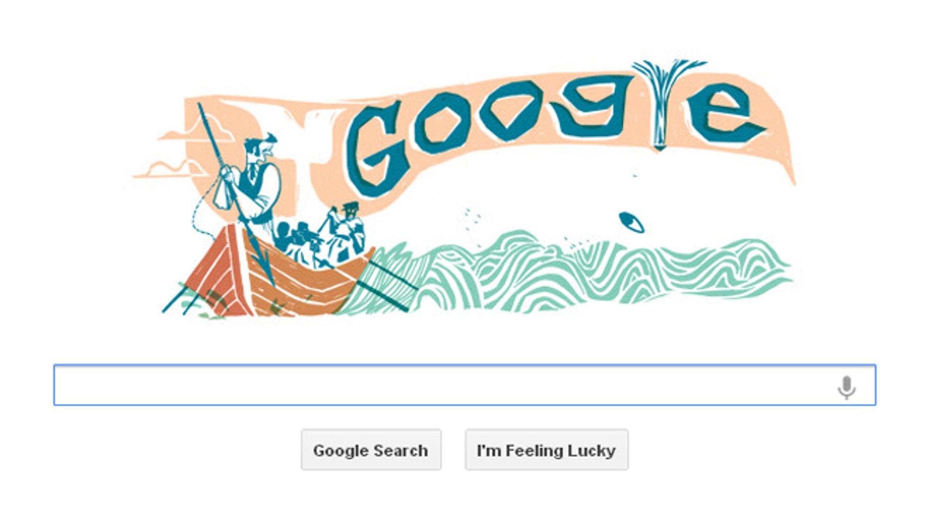 Google's latest Doodle tribute.