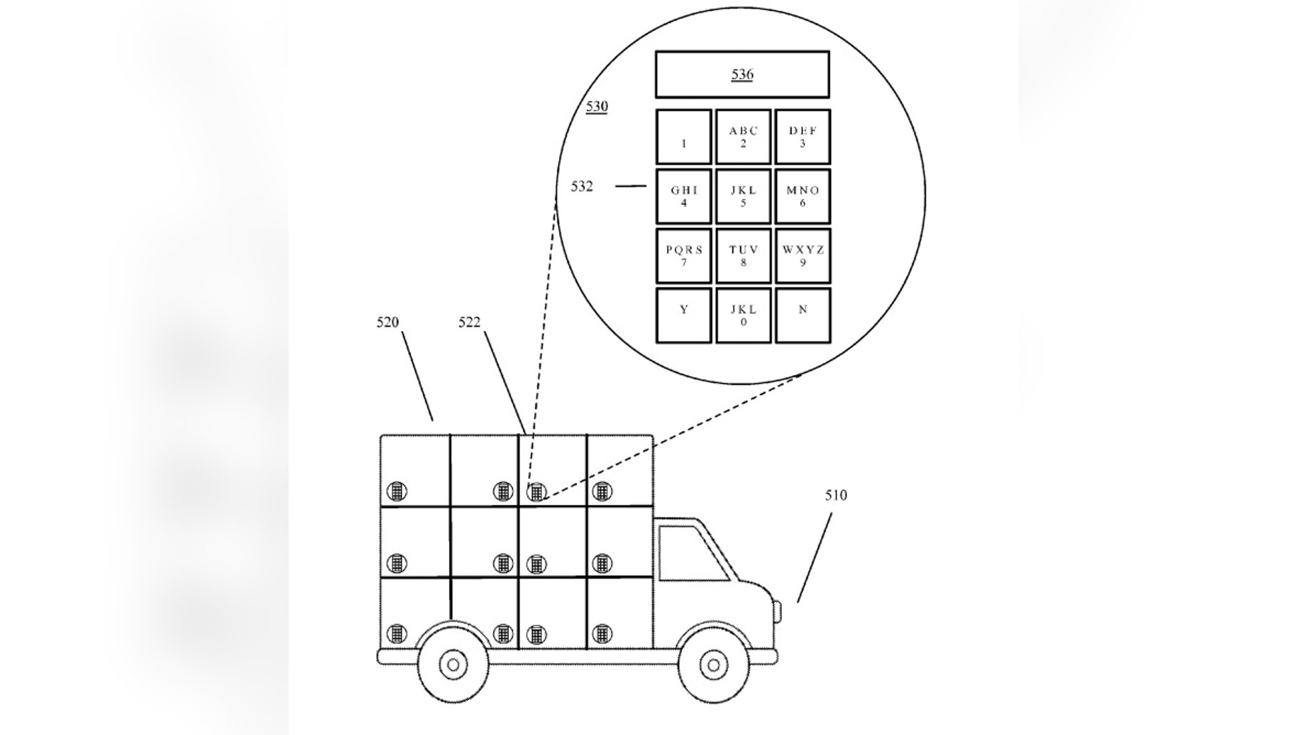 (Screenshot from Google patent on www.uspto.gov - US Patent and Trademark Office)