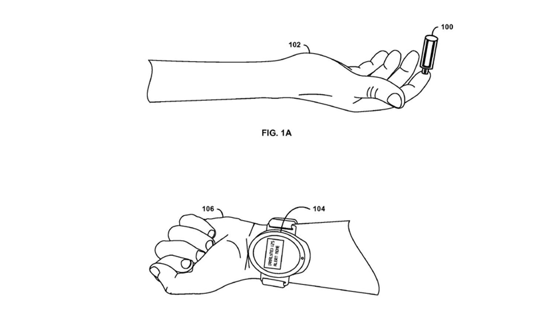 Illustration from Google's patent (USPTO).