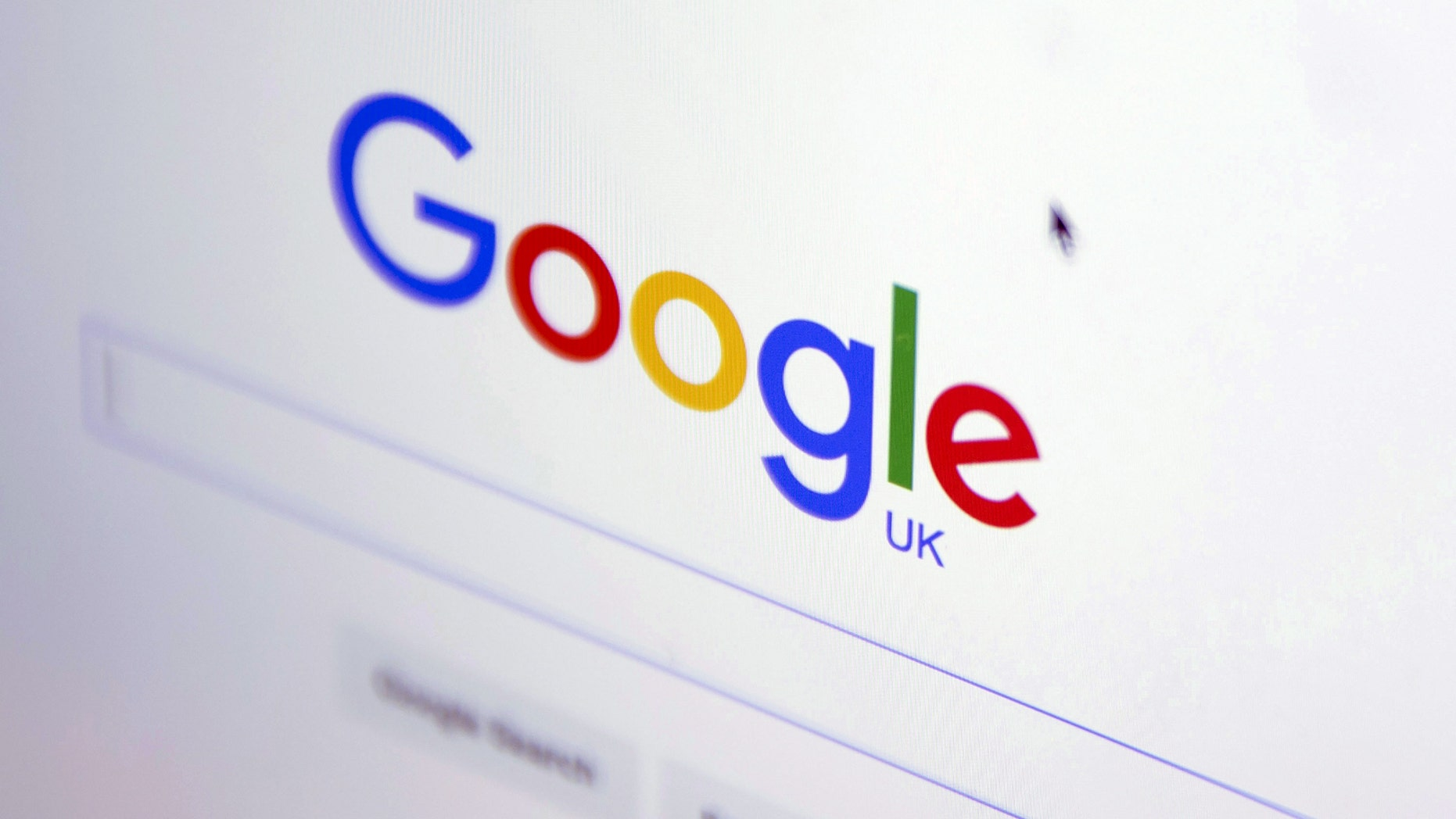 File photo - The Google internet homepage is displayed on a product at a store in London, Britain January 23, 2016. (REUTERS/Neil Hall)