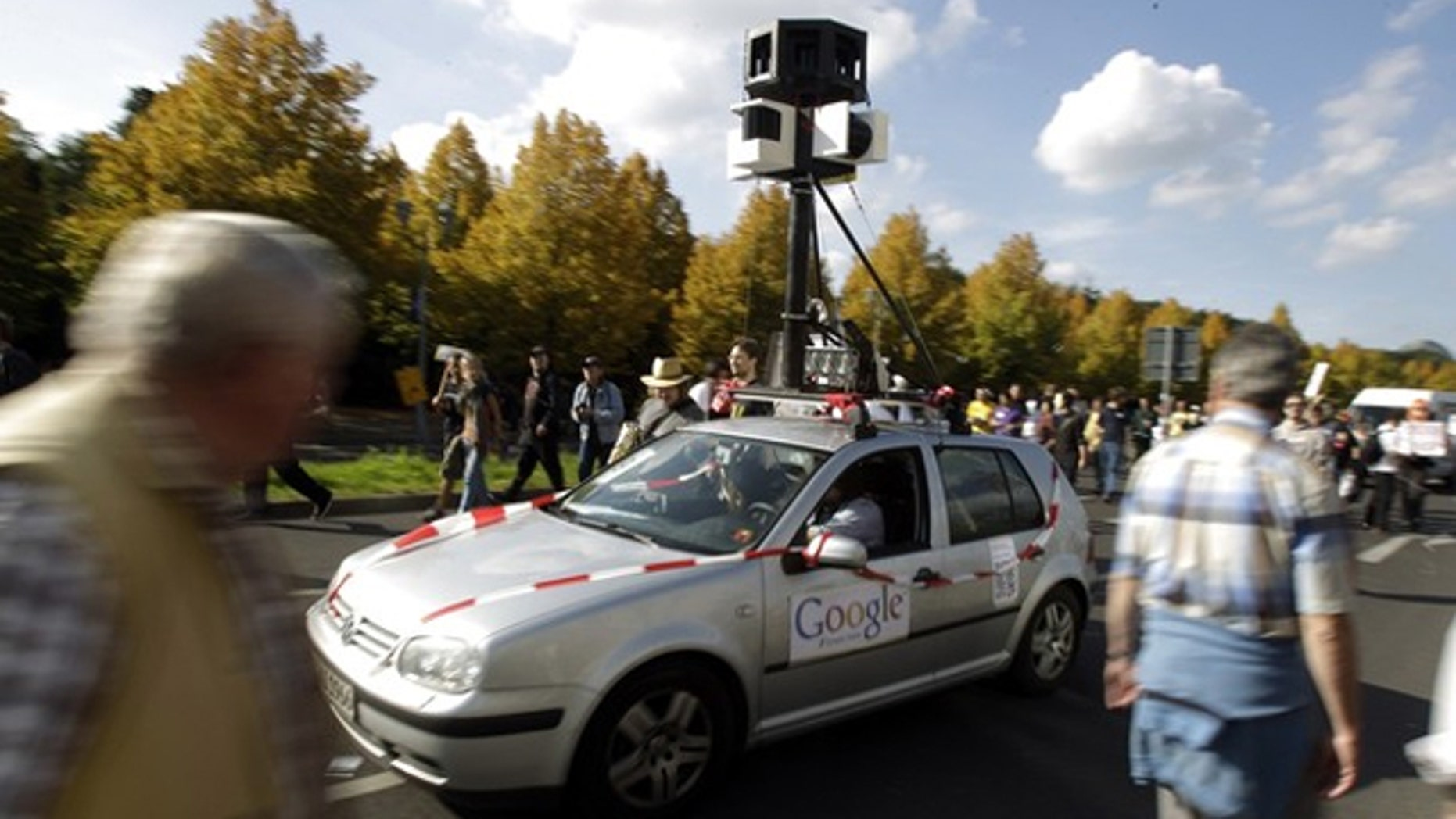 Google mistakenly collected private data through its Street View program.