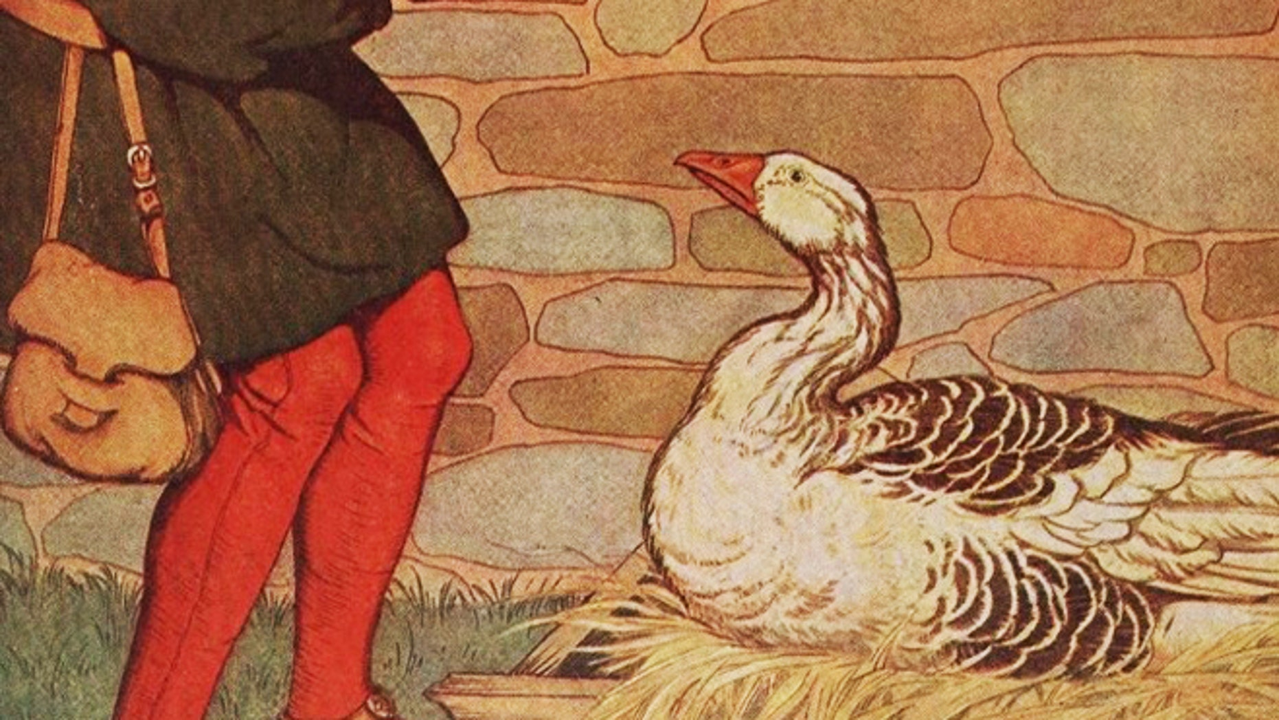 """The Golden Goose Awards, in part, allude to the fable """"The Goose That Laid Golden Eggs."""""""