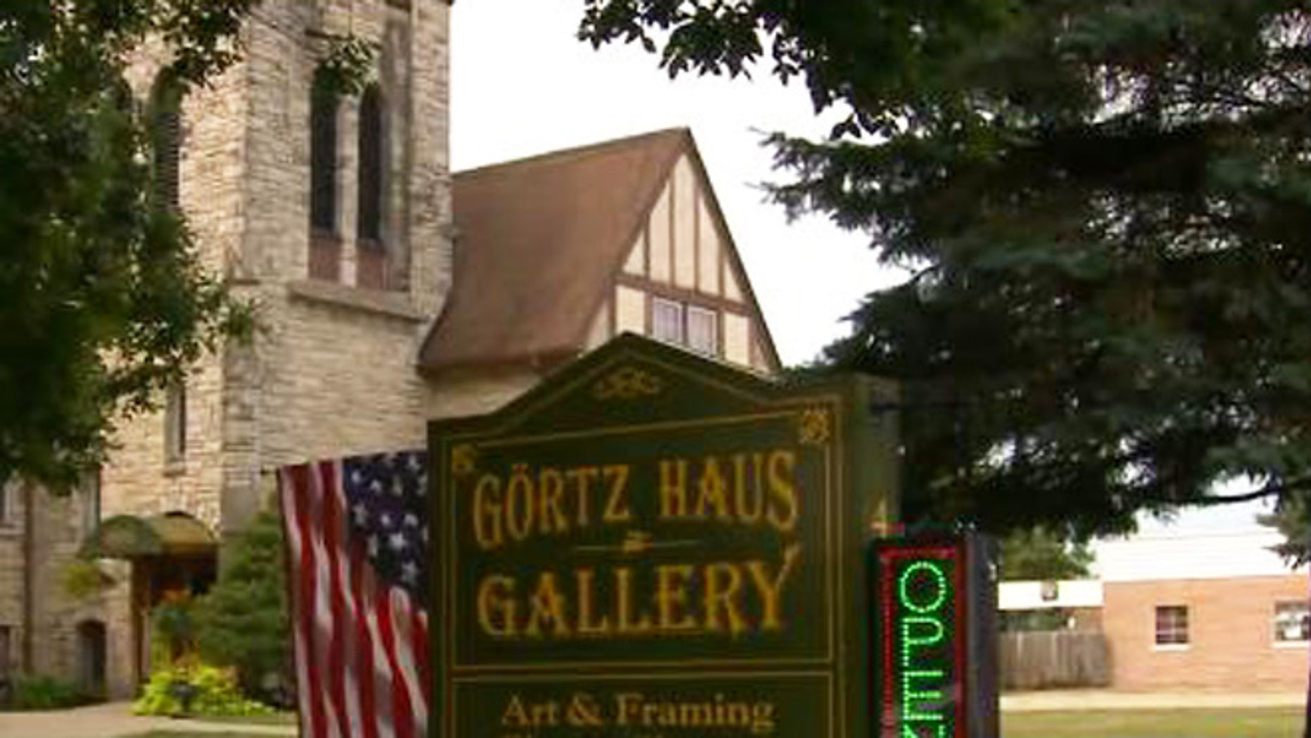The Gortz Haus Gallery in Grimes, Iowa.